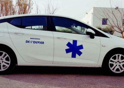ambulance olivier miramas st Chamat st Mitre les remparts Istre2