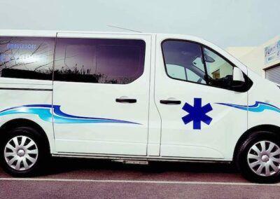 ambulance olivier miramas st Chamat st Mitre les remparts Istre6